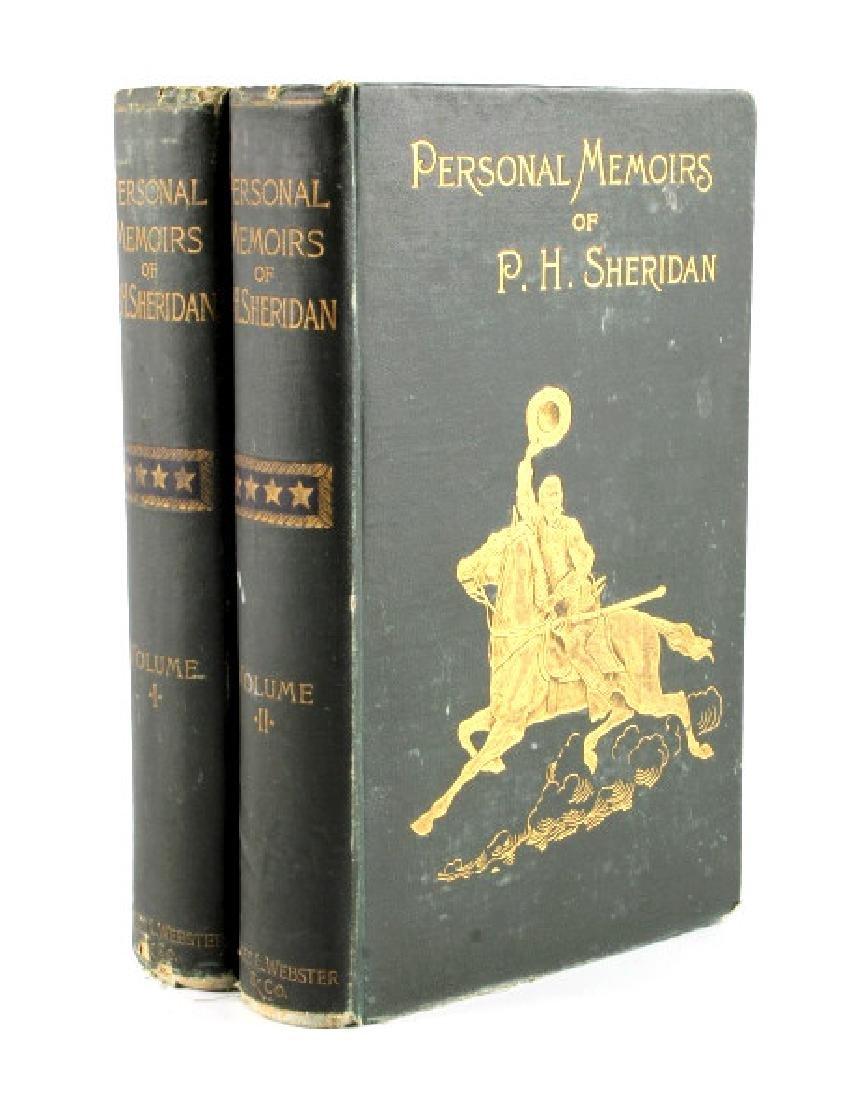 Personal Memoirs of P.H. Sheridan 1st Ed. 1888