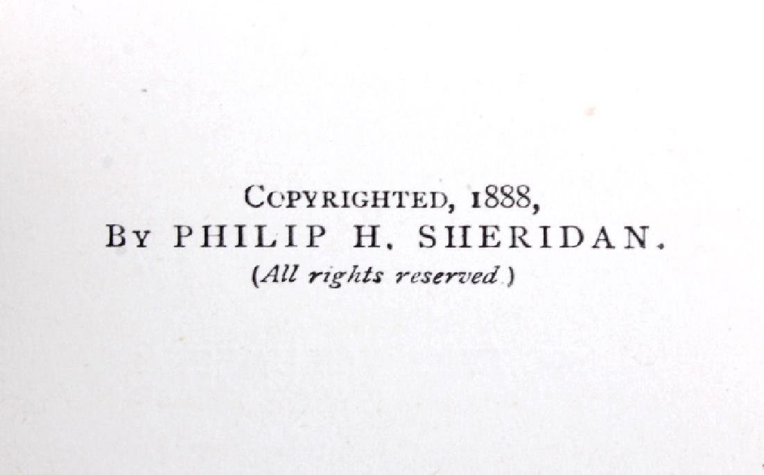 Personal Memoirs of P.H. Sheridan 1st Ed. 1888 - 4