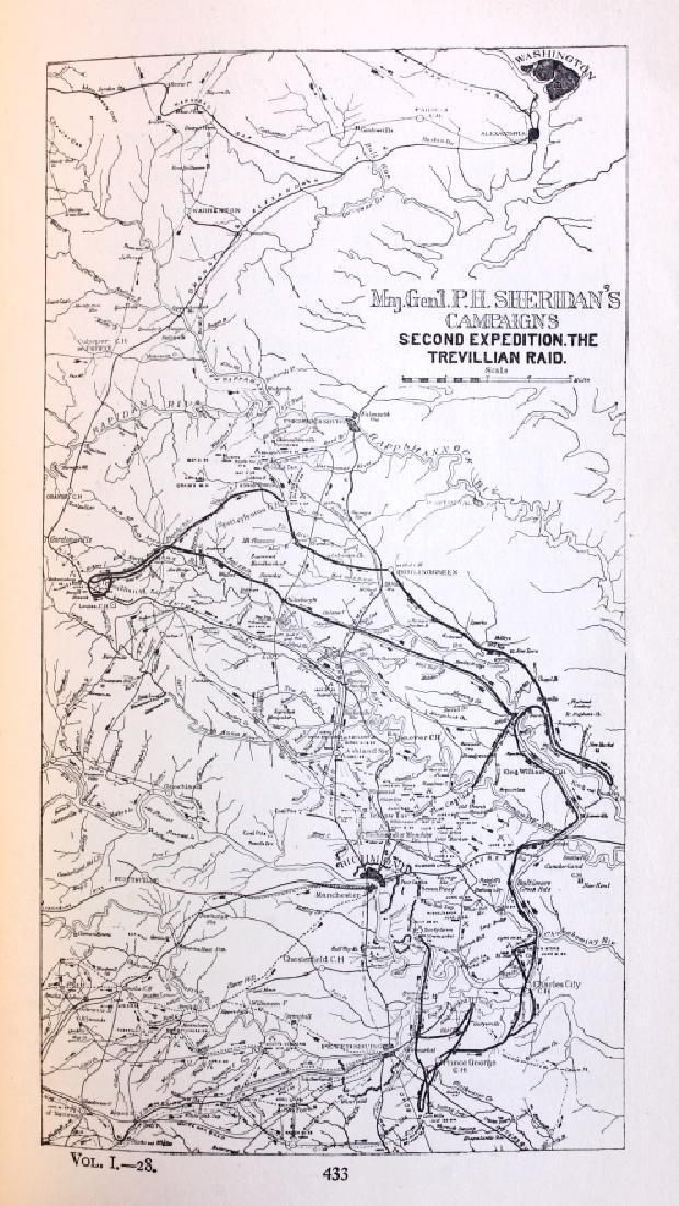 Personal Memoirs of P.H. Sheridan 1st Ed. 1888 - 8