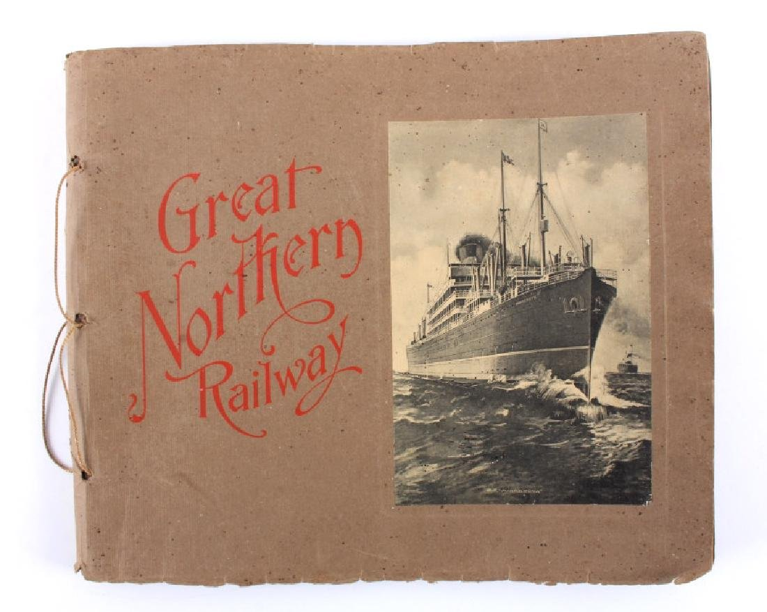 Early 1900's Great Northern Railway Album