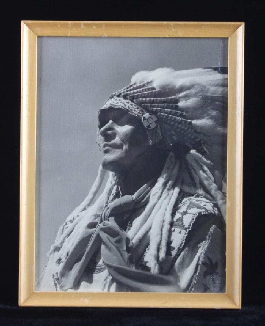 Original Native American Photograph Omaha Nebraska