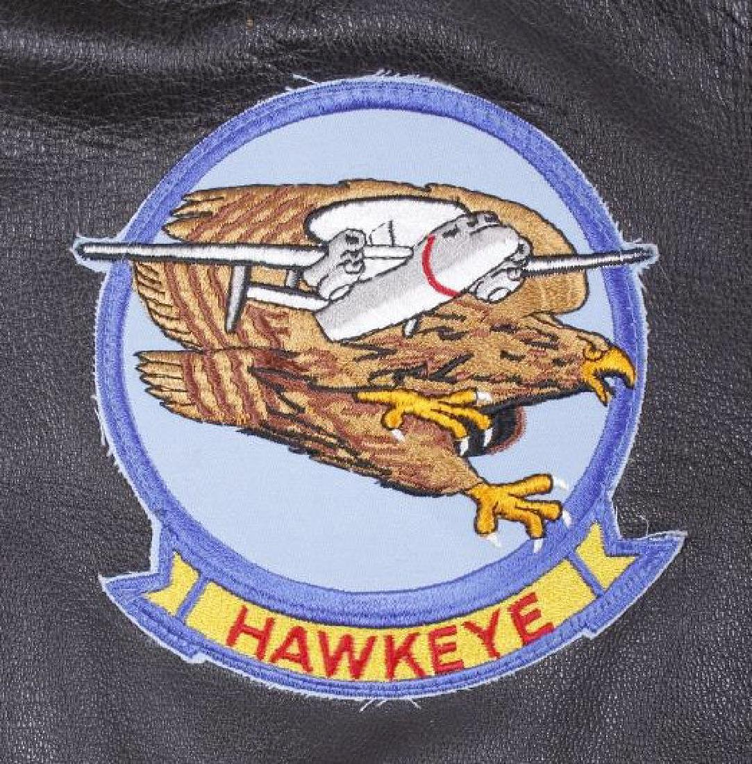 Excelled Vietnam Era US Navy Pilots Bomber Jacket - 4