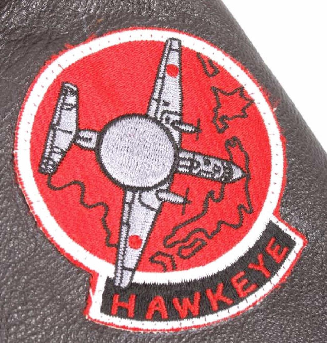 Excelled Vietnam Era US Navy Pilots Bomber Jacket - 8
