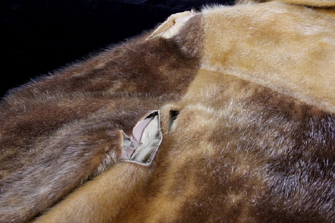 Early Martin Victor Fur Leopard Seal Skin Coat - 10