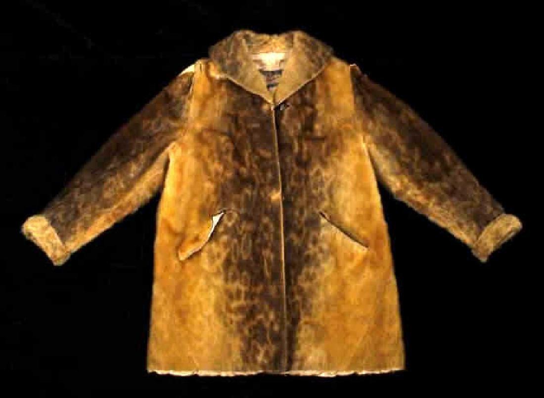 Early Martin Victor Fur Leopard Seal Skin Coat - 2