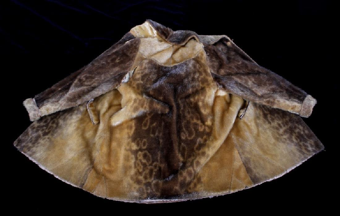 Early Martin Victor Fur Leopard Seal Skin Coat - 3