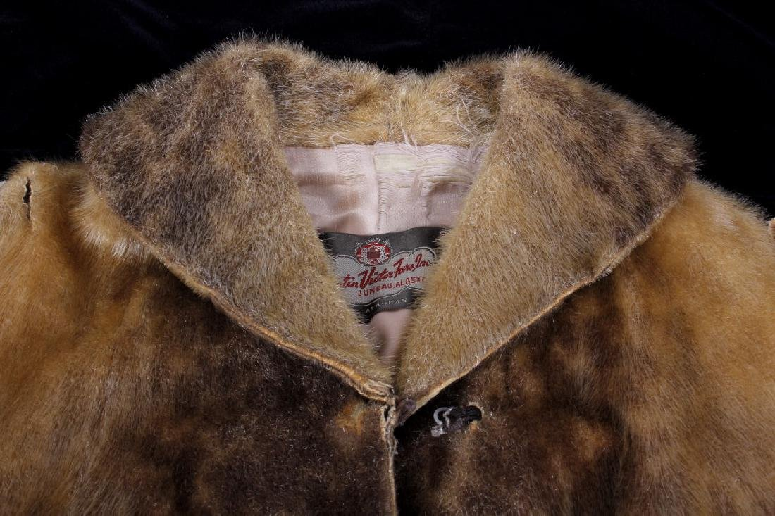 Early Martin Victor Fur Leopard Seal Skin Coat - 5