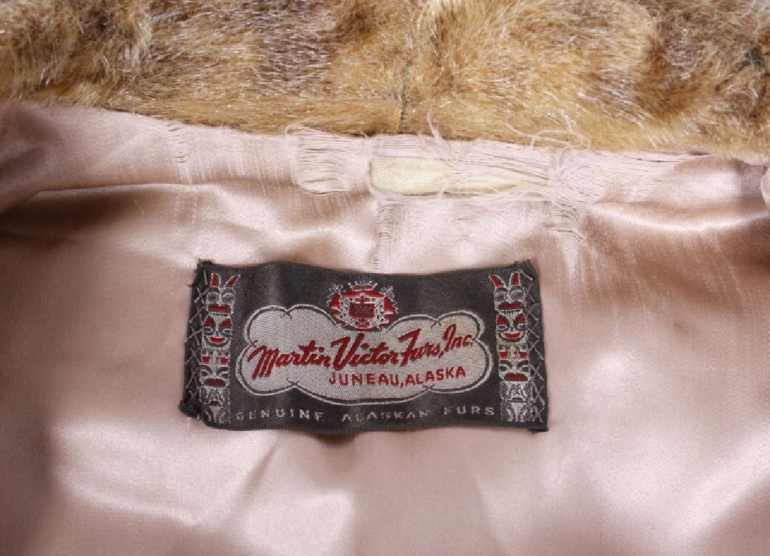 Early Martin Victor Fur Leopard Seal Skin Coat - 6
