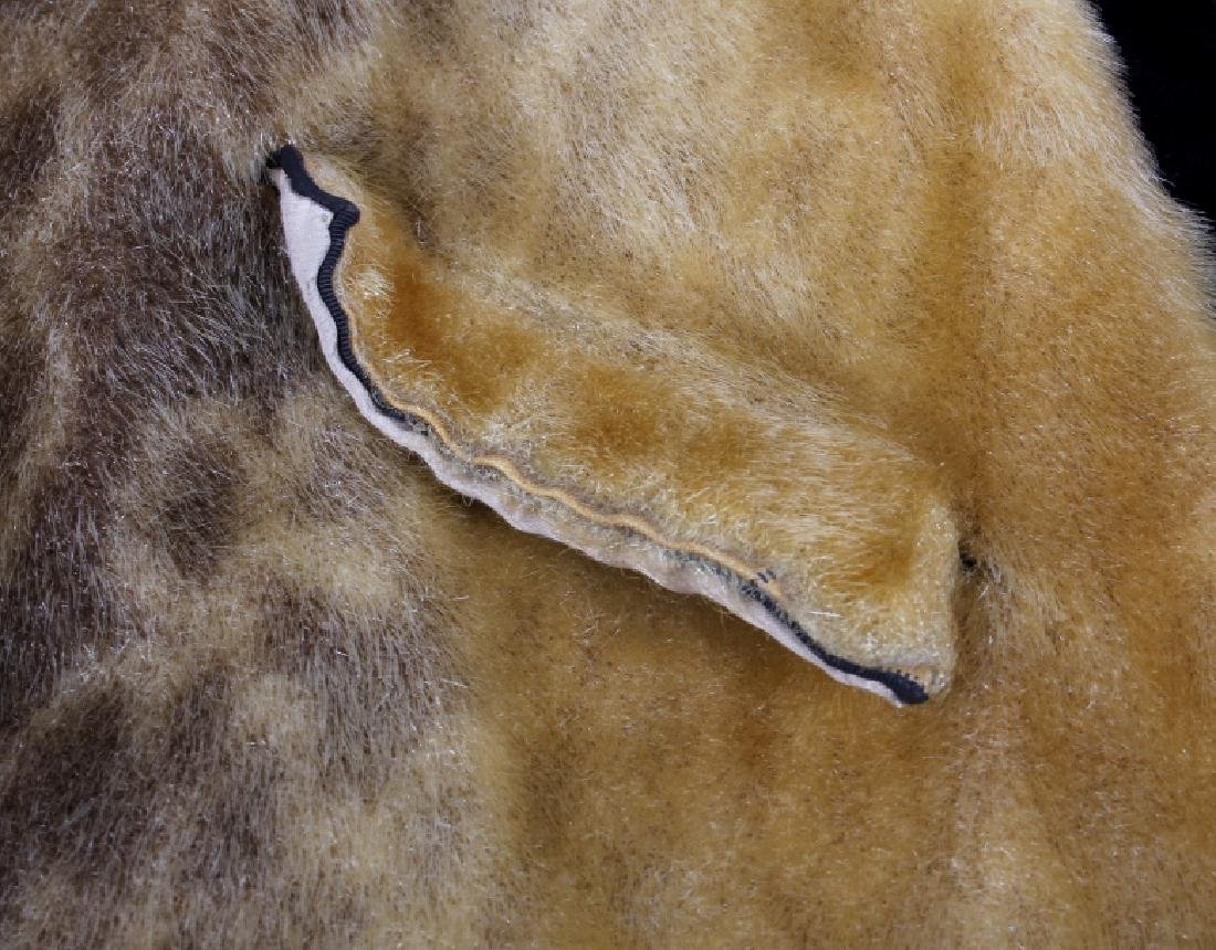 Early Martin Victor Fur Leopard Seal Skin Coat - 8