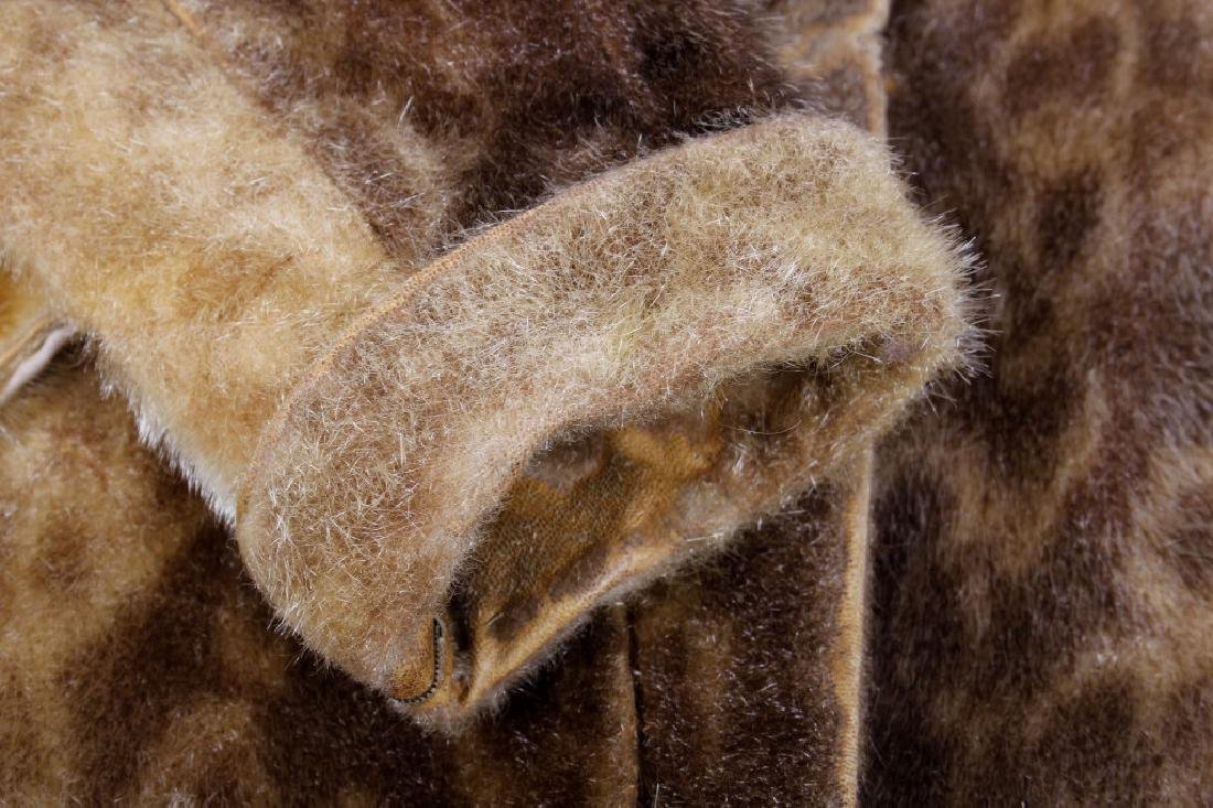 Early Martin Victor Fur Leopard Seal Skin Coat - 9