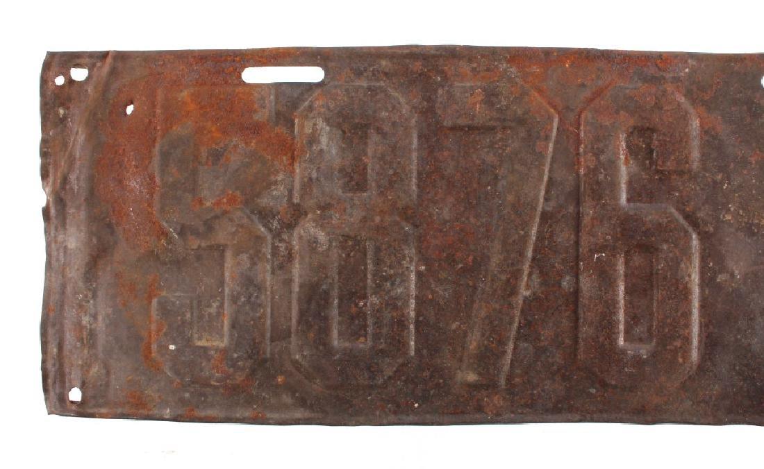1915 Montana License Plate - 2