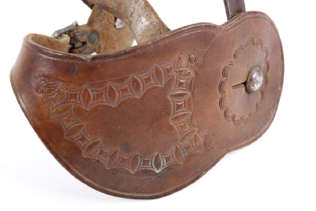 August Buermann Forged Steel Spurs 1880-1915 - 5