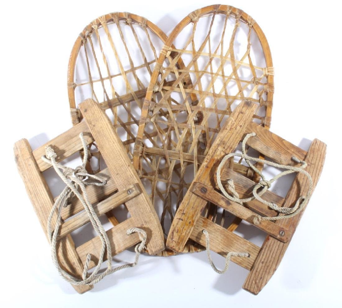 Montana Rawhide Snow Shoes & Equine Ice Shoes