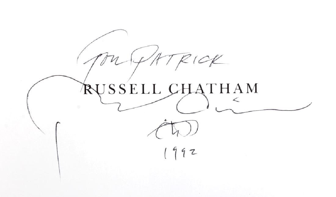 Russell Chatham Signed Book Collection - 13