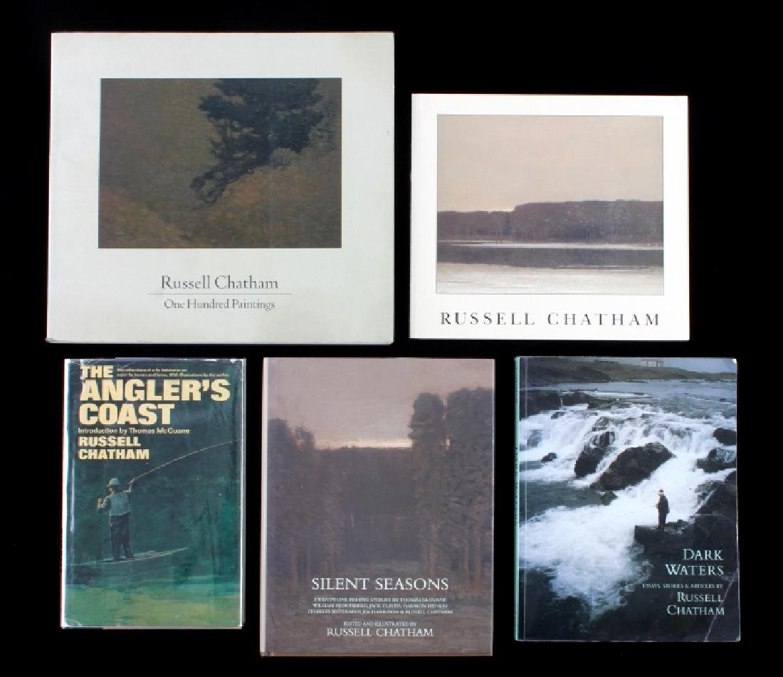 Russell Chatham Signed Book Collection