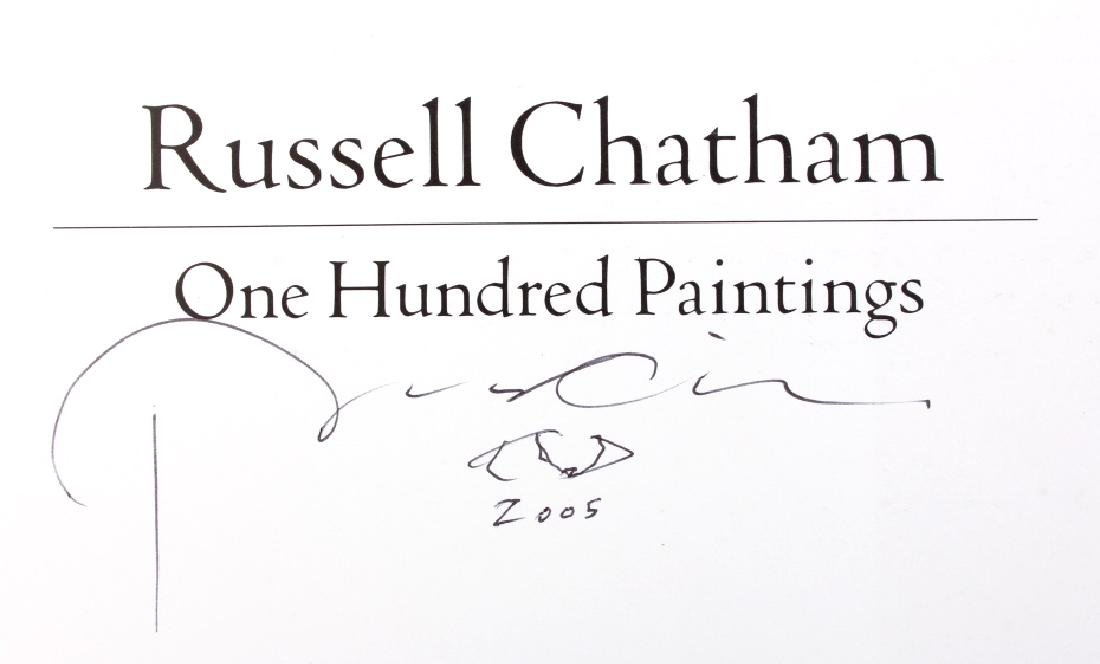 Russell Chatham Signed Book Collection - 7