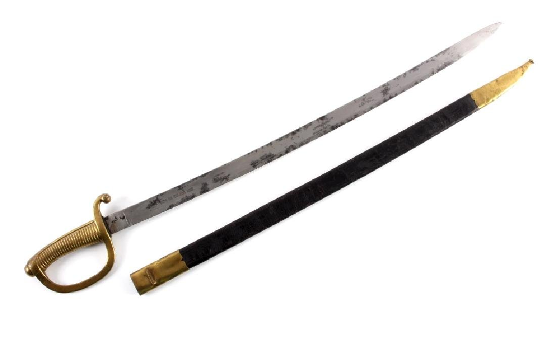 1888 Spanish Artillery Short Sword