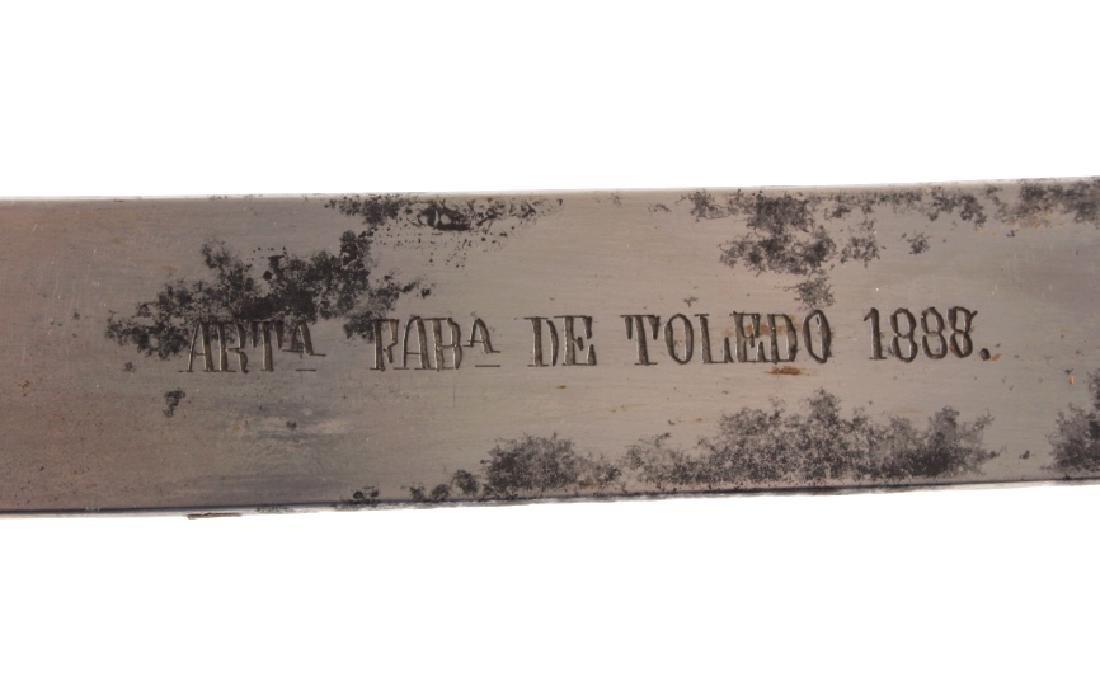1888 Spanish Artillery Short Sword - 3