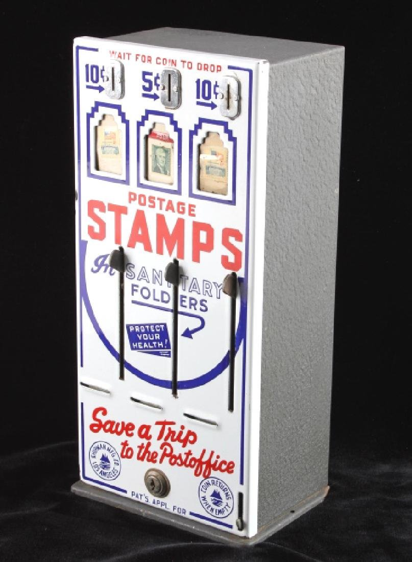 Shipman Coin-Op Postage Stamp Machine - 2