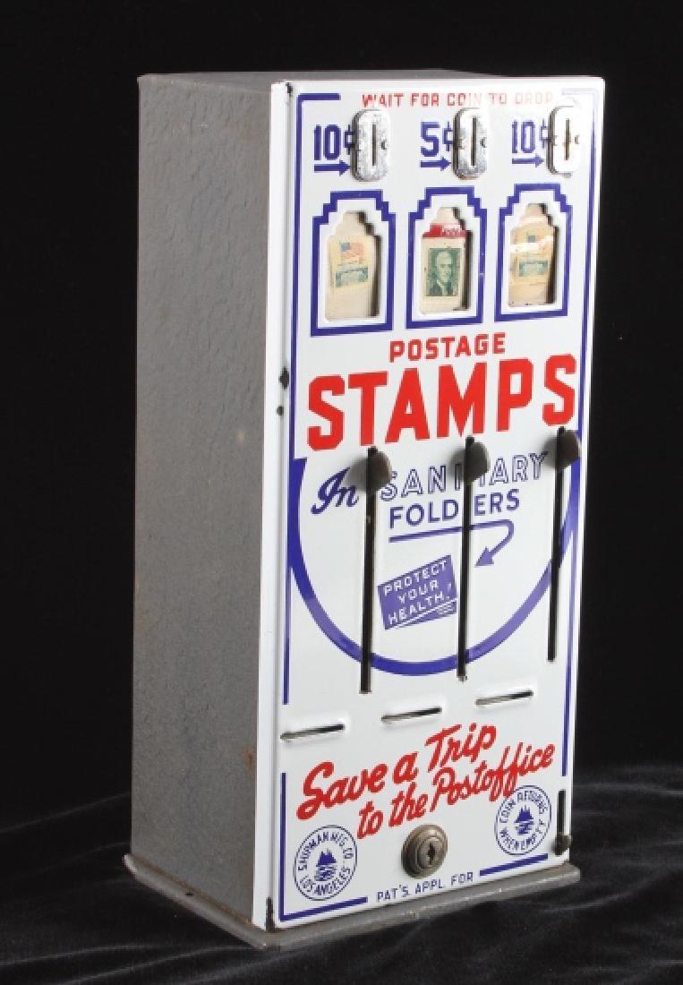Shipman Coin-Op Postage Stamp Machine - 3