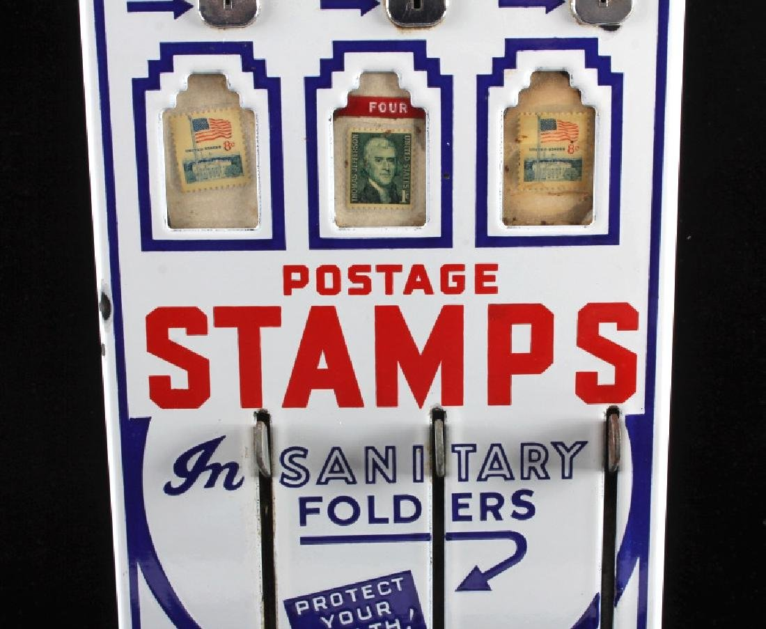 Shipman Coin-Op Postage Stamp Machine - 5
