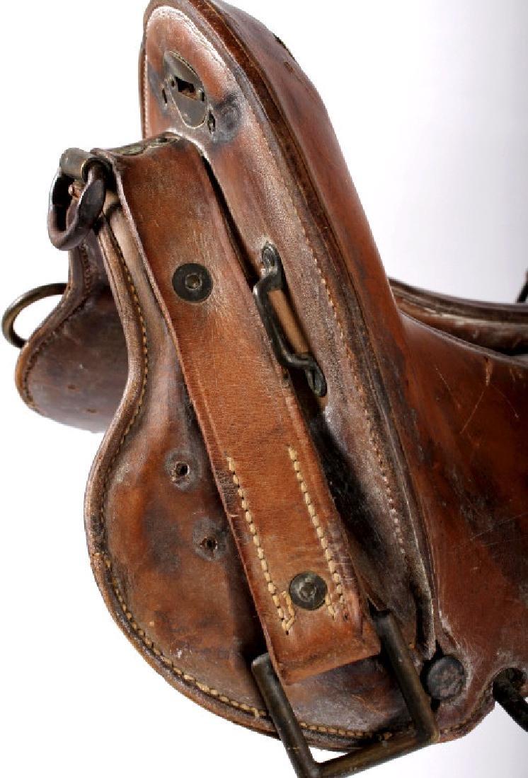 McClellan Military Saddle c. 1880-1920 - 10