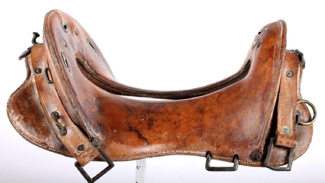 McClellan Military Saddle c. 1880-1920