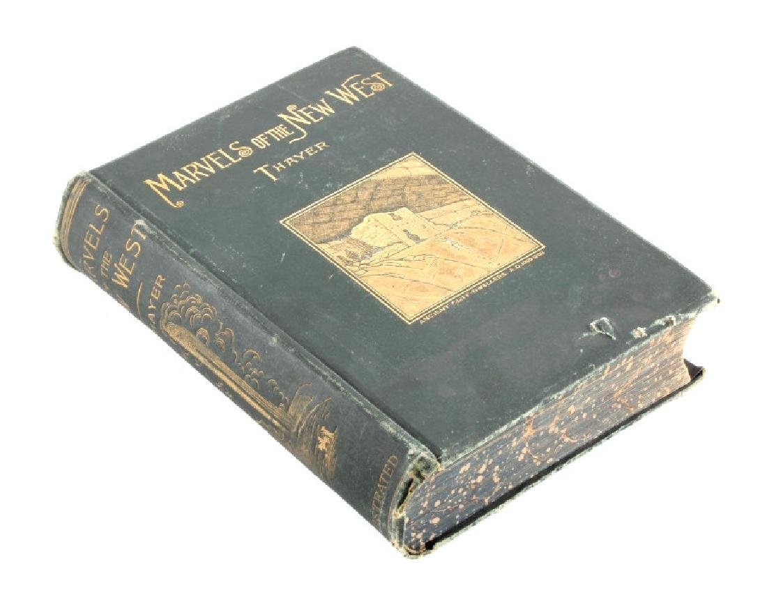 Marvels of the New West by Thayer 1891
