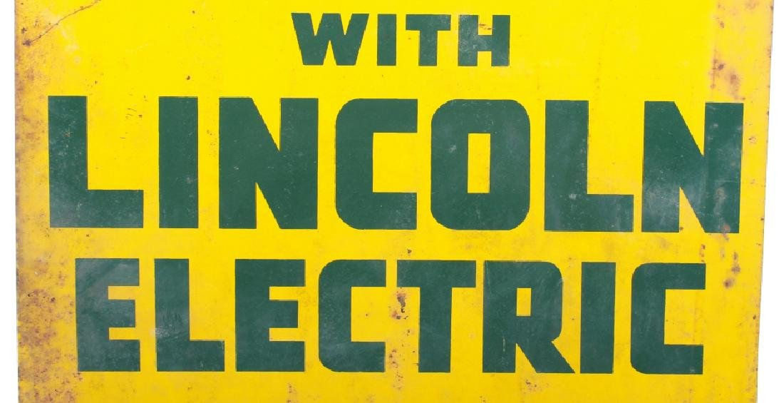 Lincoln Electric Co-Op Sign from Eureka Montana - 3