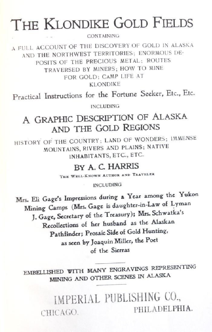 Alaska and the Gold Fields Salesman Sample 1897 - 3