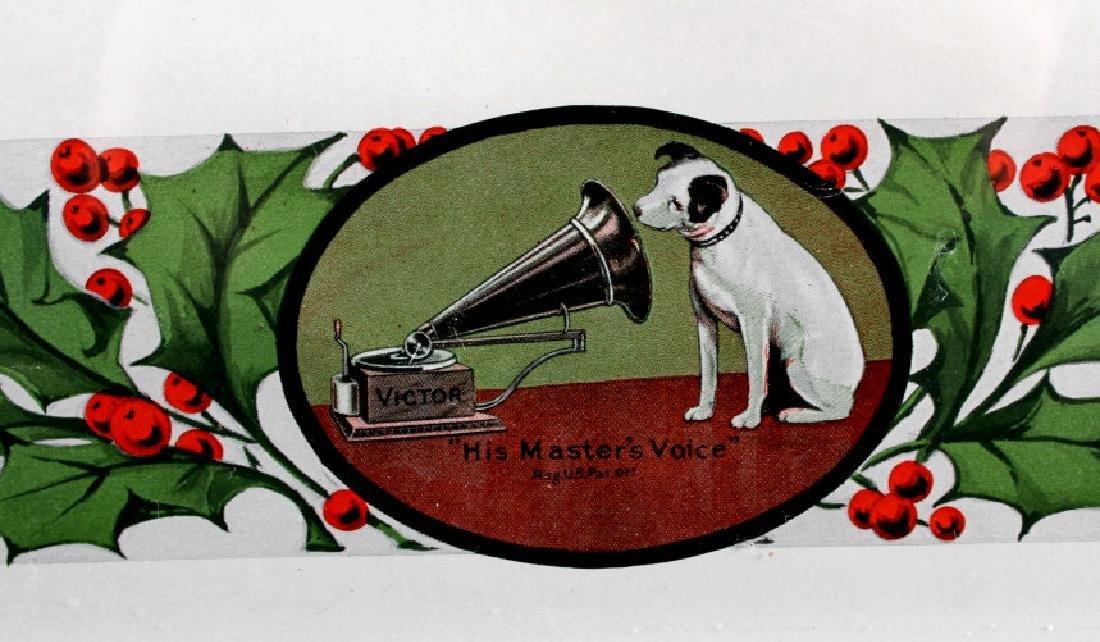 Original RCA Victor Christmas Records Poster 1916 - 4