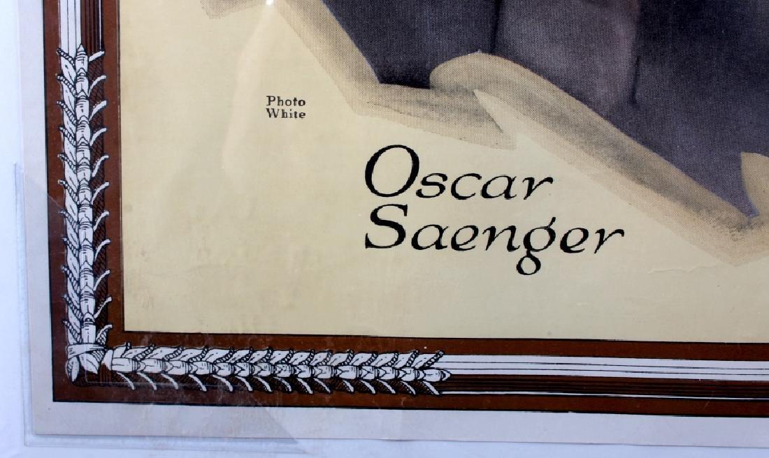 Original RCA Victor Oscar Saenger Poster c.1916 - 7