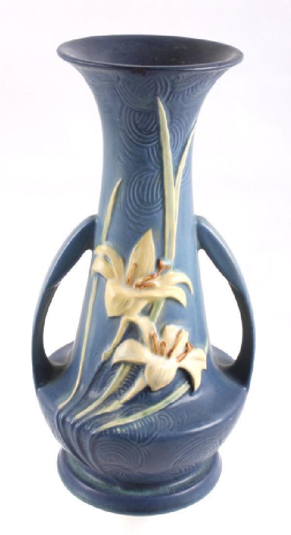Roseville Zephyr Lily & Freesia Pattern Vases (2) - 2