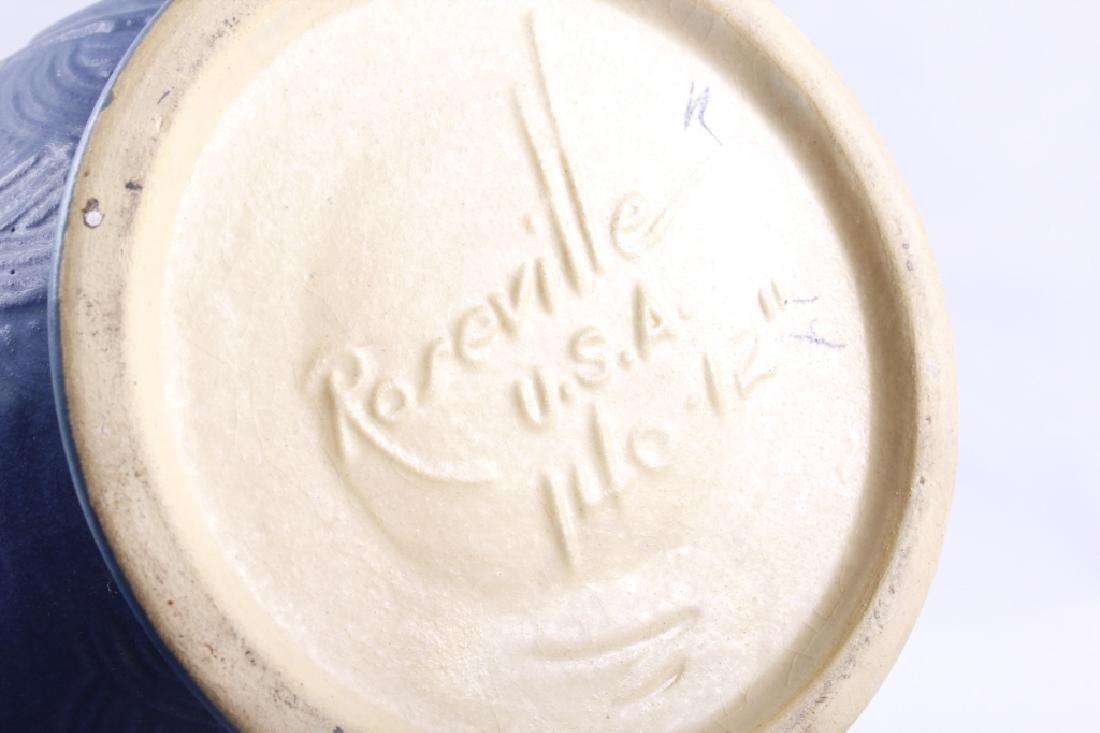 Roseville Zephyr Lily & Freesia Pattern Vases (2) - 5