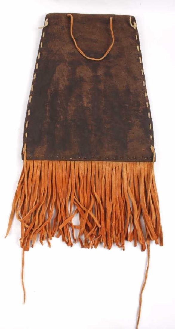 Kiowa Fully Beaded Flat Document Bag - 6