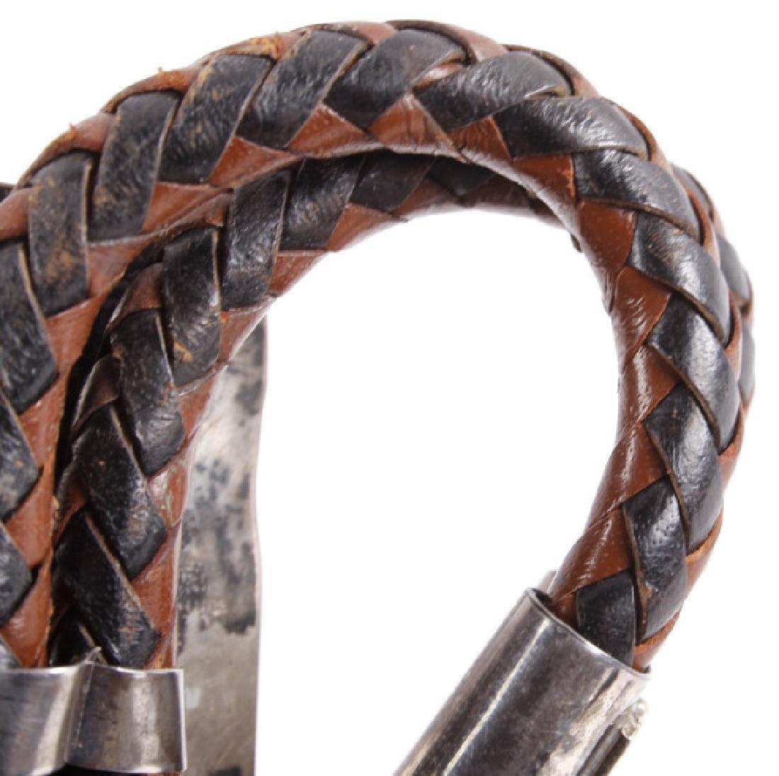 Ornate Navajo Multi-Stone Bird Effigy Bolo-Tie - 6