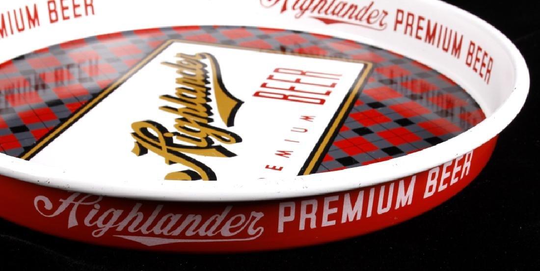 Highlander Premium Beer Tray Missoula Montana - 6