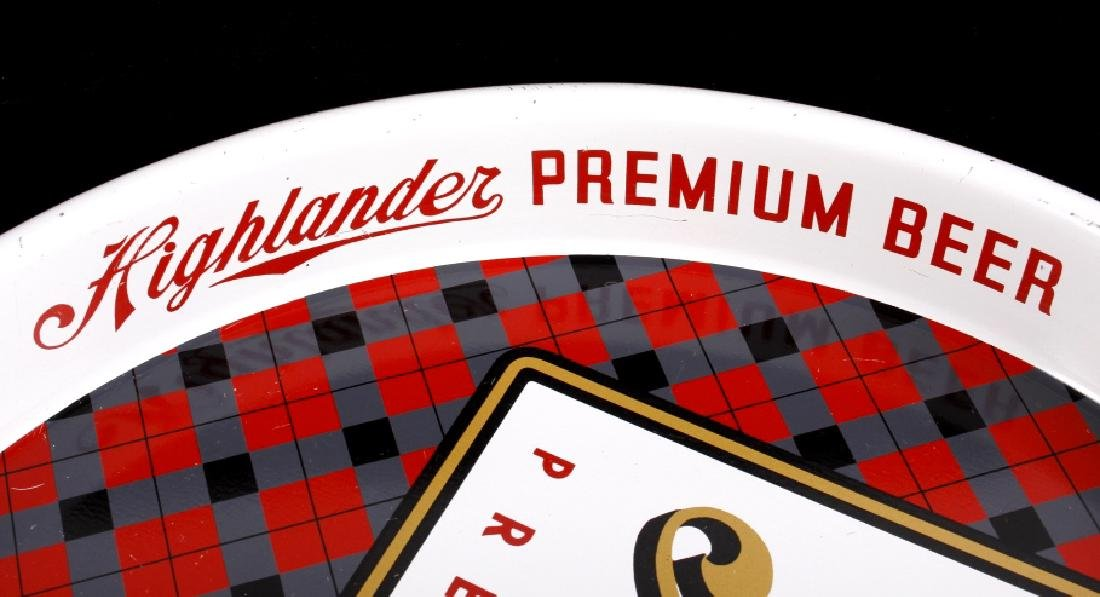 Highlander Premium Beer Tray Missoula Montana - 7