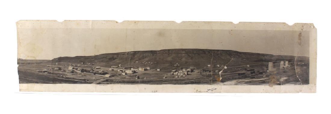 Early Highwood, Montana Panoramic Photograph