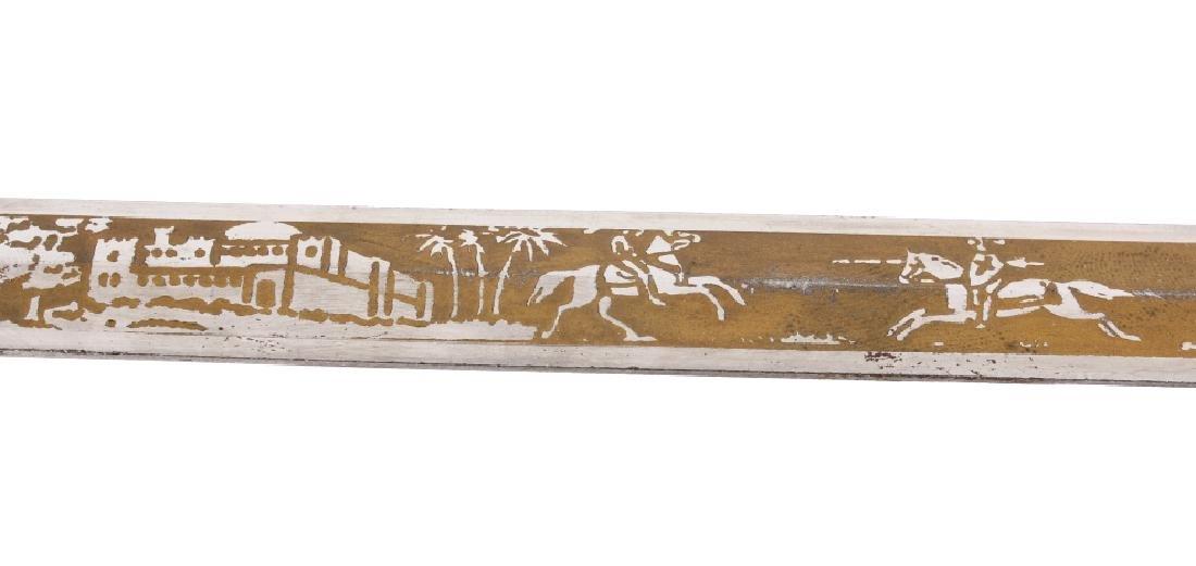 Ornate Henderson Ames Co. Fraternal Order Sword - 15