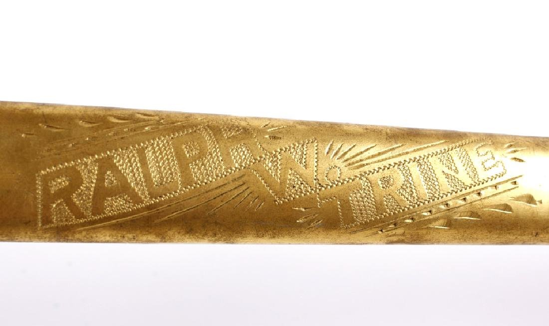 Ornate Henderson Ames Co. Fraternal Order Sword - 5