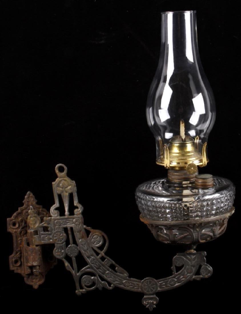 Ideal Glass Wall Hanging Oil Lantern