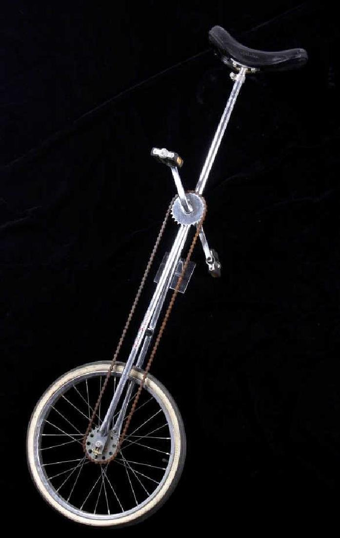 Schwinn Giraffe Chrome Plated Unicycle