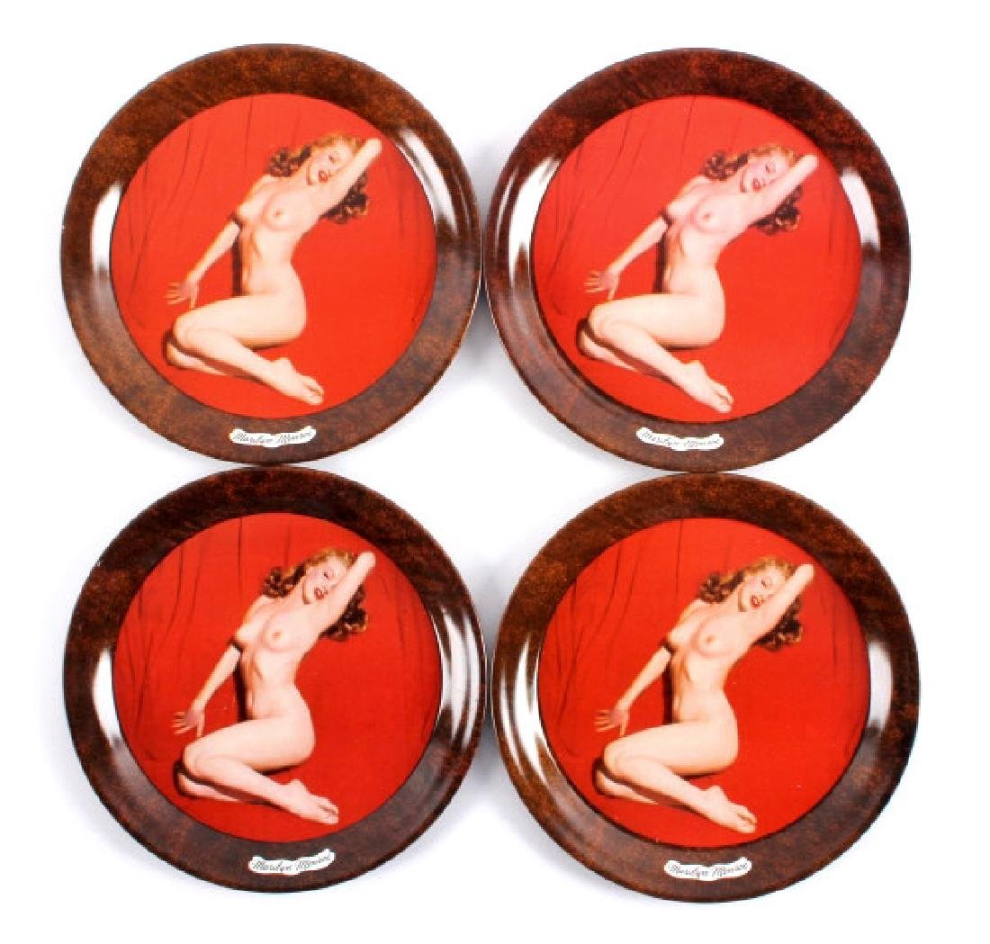 1950's Marilyn Monroe Nude Tip Tray Collection