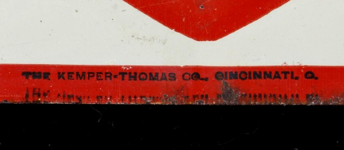 Carney Coal Company Embossed Tin Advertising Sign - 5