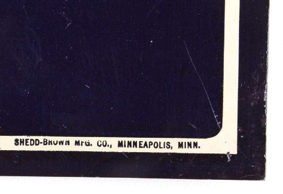 Original Westby Montana Farm Loan Sign Early 1900 - 4