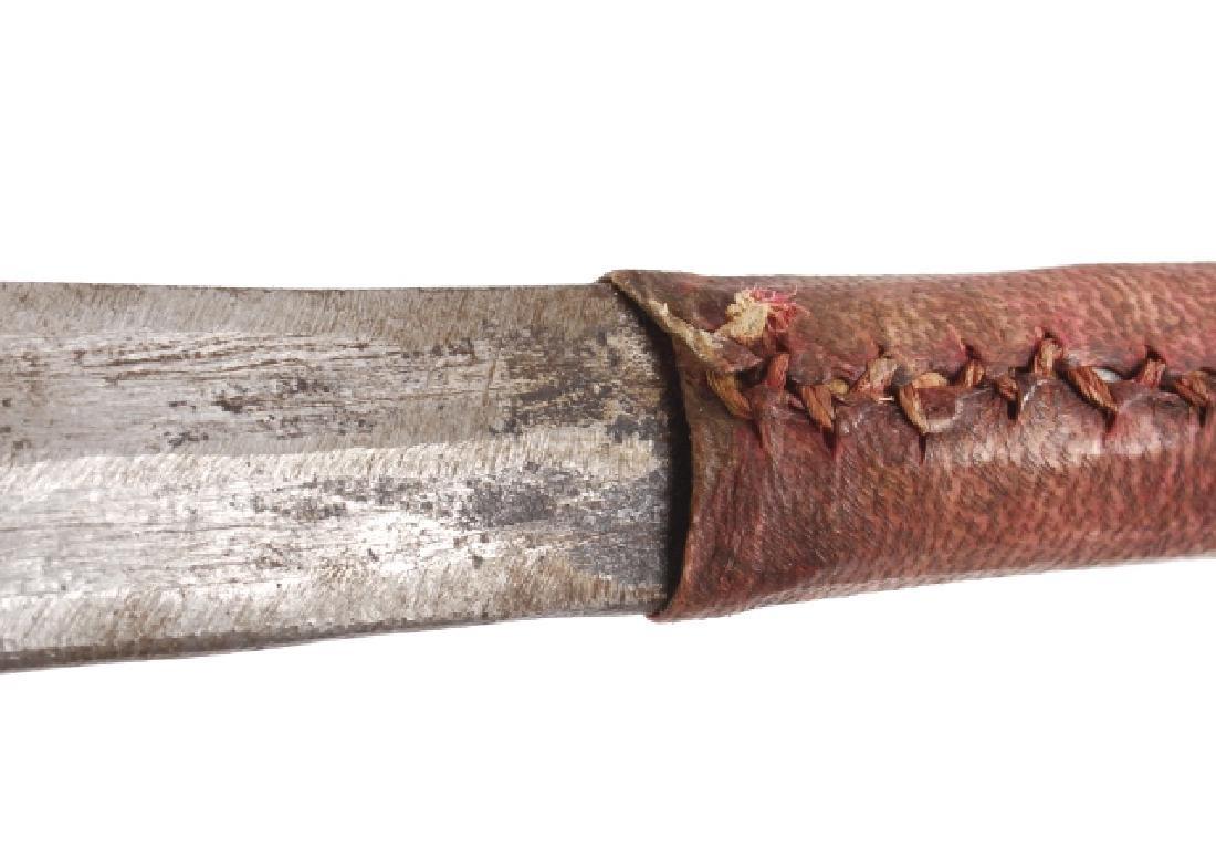 Kenyan - Maasai Peoples Ol Alem Herders Sword - 9