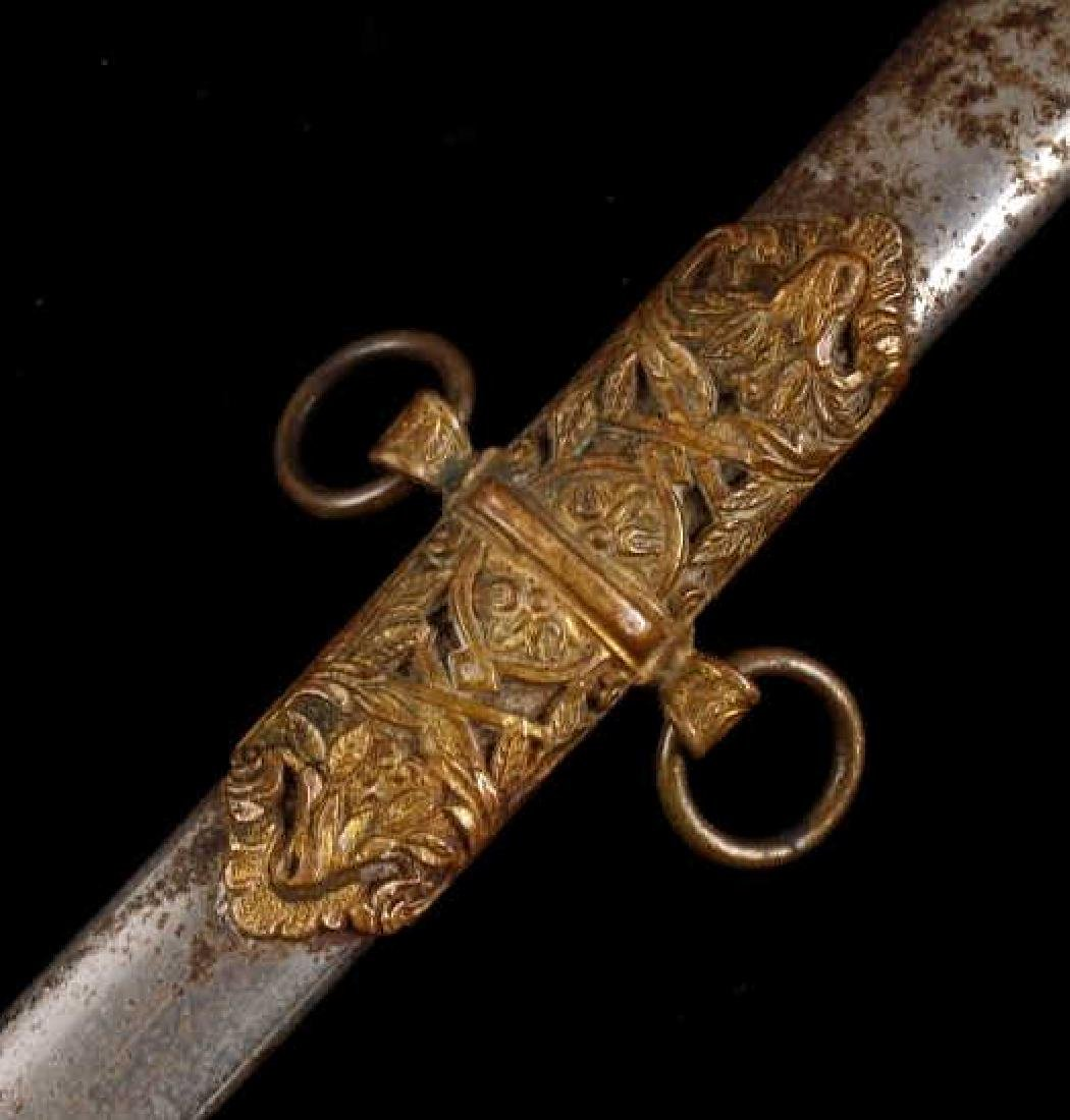 Ames Sword Co. Loyal Order of the Moose Sword - 10