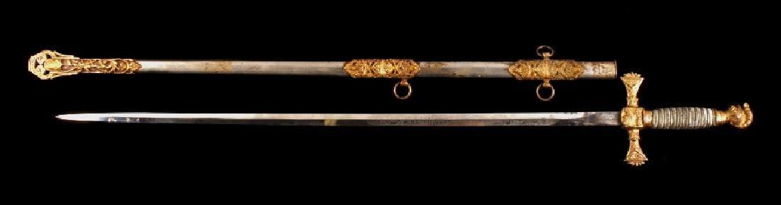 Ames Sword Co. Loyal Order of the Moose Sword