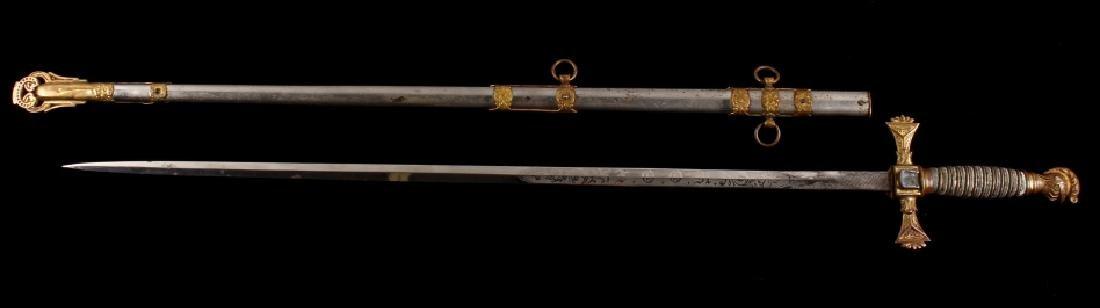 Ames Sword Co. Loyal Order of the Moose Sword - 2